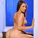 Celeste Star gets naked