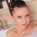 Babelicious.com (Pics) - July Sweet - Cute July enjoys masturbating while inside the hot tub